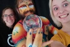 2018 LabodyPaint - Selfie avec les MakeUp Artists !